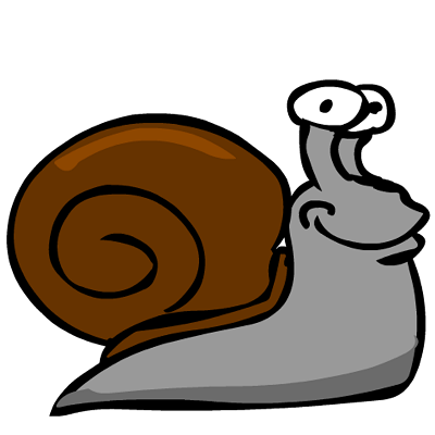 Veggie Patch game image of a snail